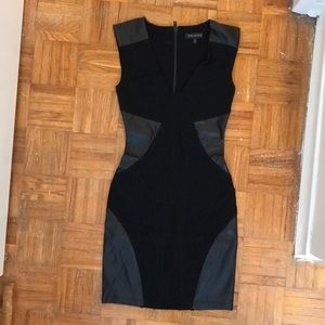 Form fitting dress with detail